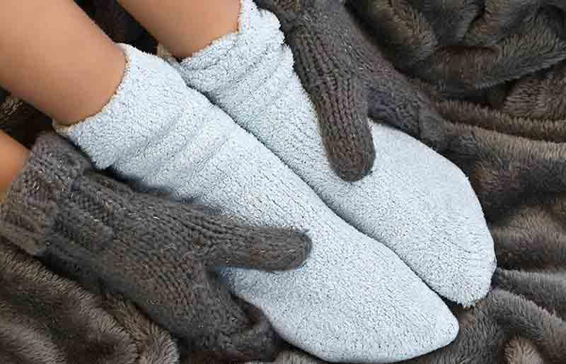 Giữ ấm đôi bàn chân của bạn