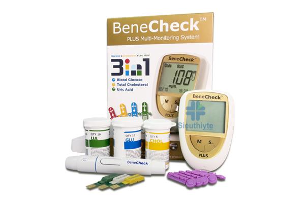 máy đo đường huyết Benecheck thương hiệu General Life Biotechnology